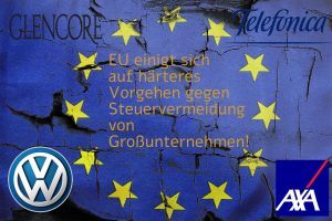 EU einigt sich auf härteres Vorgehen gegen Steuervermeidung von Großunternehmen